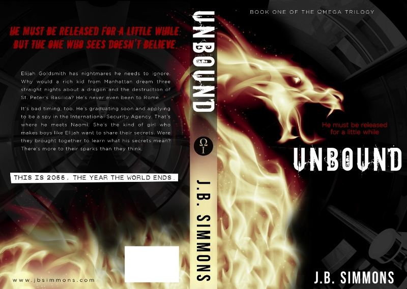 A good cover speaks for itself. I was lucky. Kerry Ellis created a great one for UNBOUND.