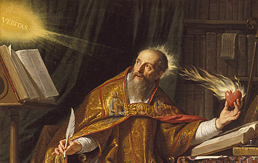 St. Augustine figured some stuff out. True that. Philippe de Champaigne.