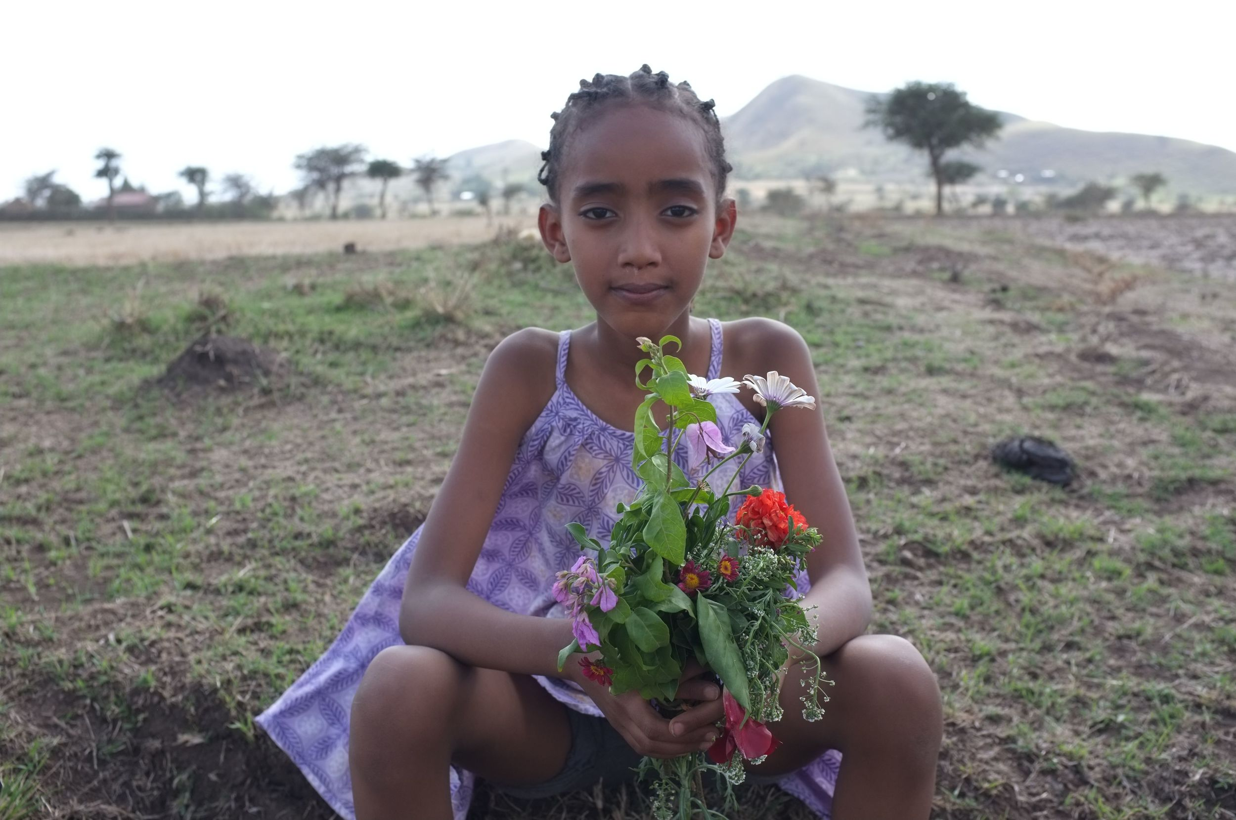 This lovely little girl Hilina had patience and graciousness in excess.