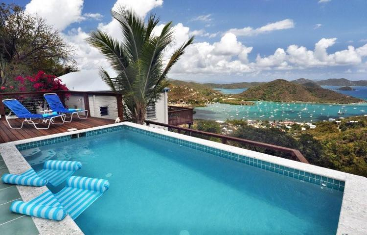 Even at well below the average sold price of a home on St John, one lucky buyer got into to this home for just $800,000 with huge views, a great pool and a masonry built home. Deals are out there!