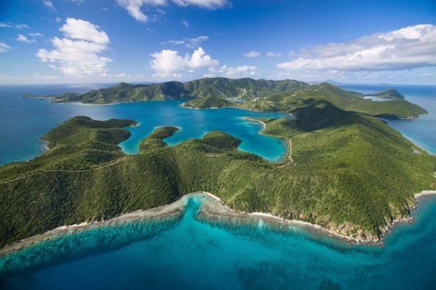 Just a small piece of the Land and Water's Protected by the  Virgin Islands National Park  and the Virgin Islands Coral Reef National Monument.