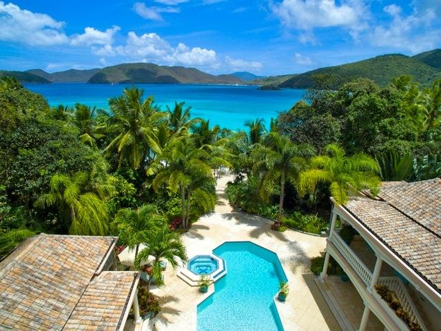 1 Peter Bay $14,250,000.00 - Do you love sitting on Trunk Bay or Hawksnest. How would you like living there? That's what this house offers – supreme best beach in the world type beachfront.