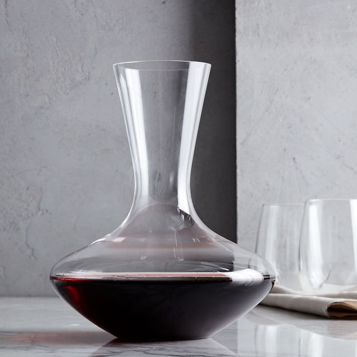 A Matching Decanter - Because every glass deserves a decanter, even if it came from a box.$40