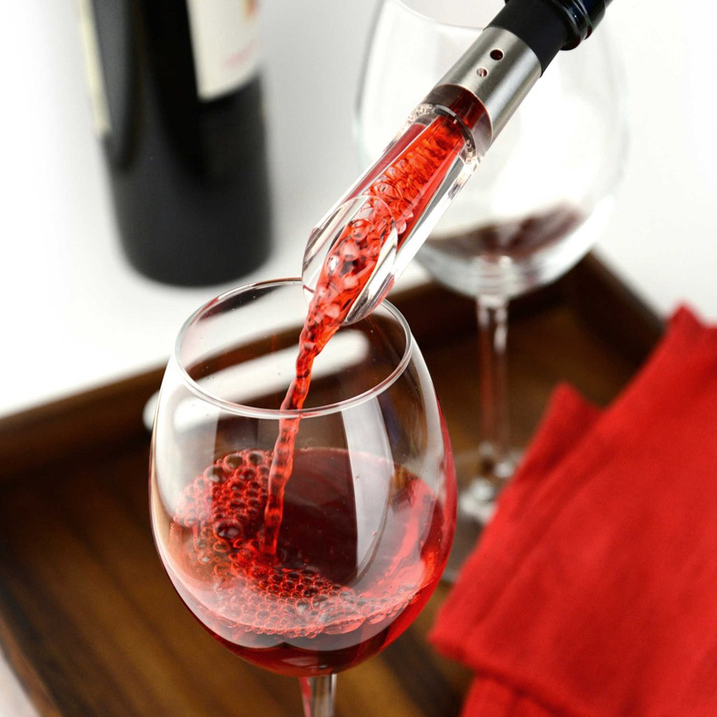 Simple + Easy Aerator - This is a perfect stocking stuffer or addition to a bottle of wine for a great gift anyone will love.$15