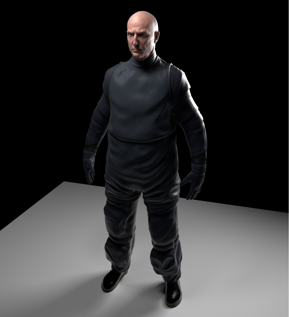 Experimenting with space-suit