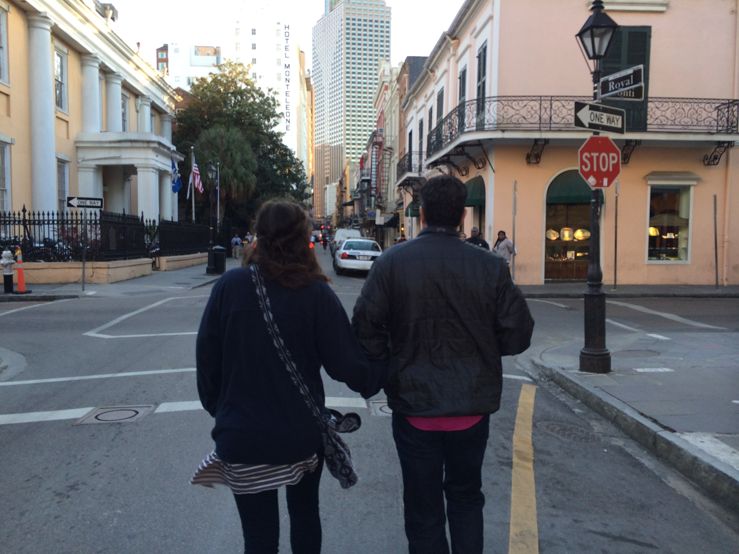 Bruce and Caroline in New Orleans