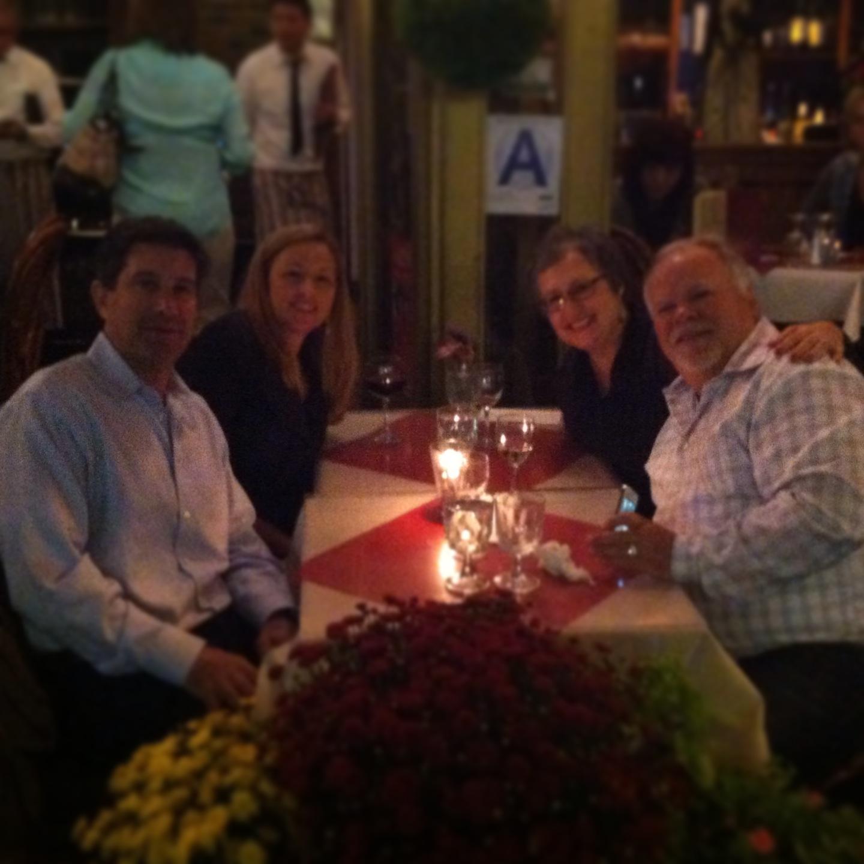 De Gennaro with the Franks