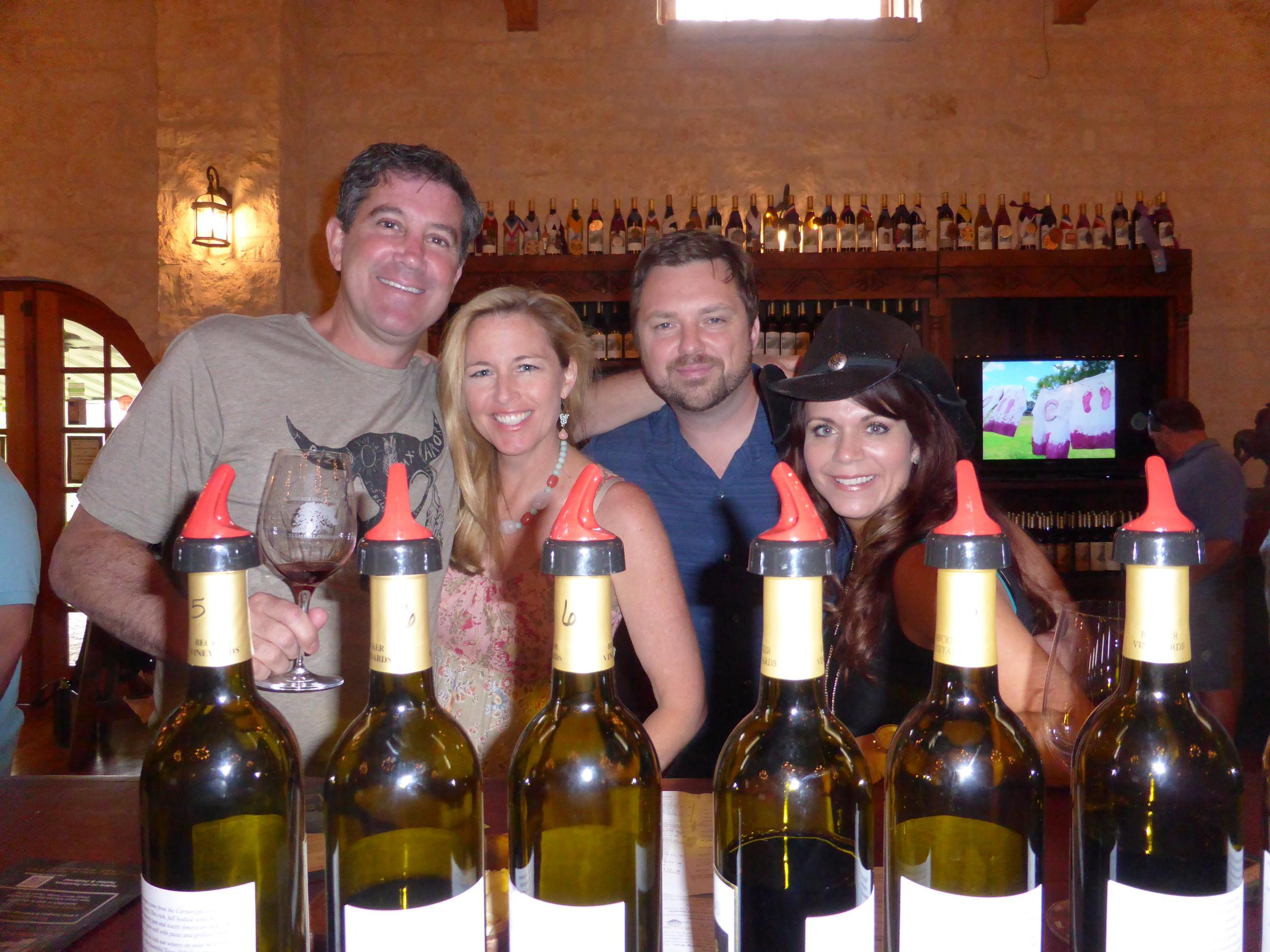 Outsidethenest Texas Wine Tours
