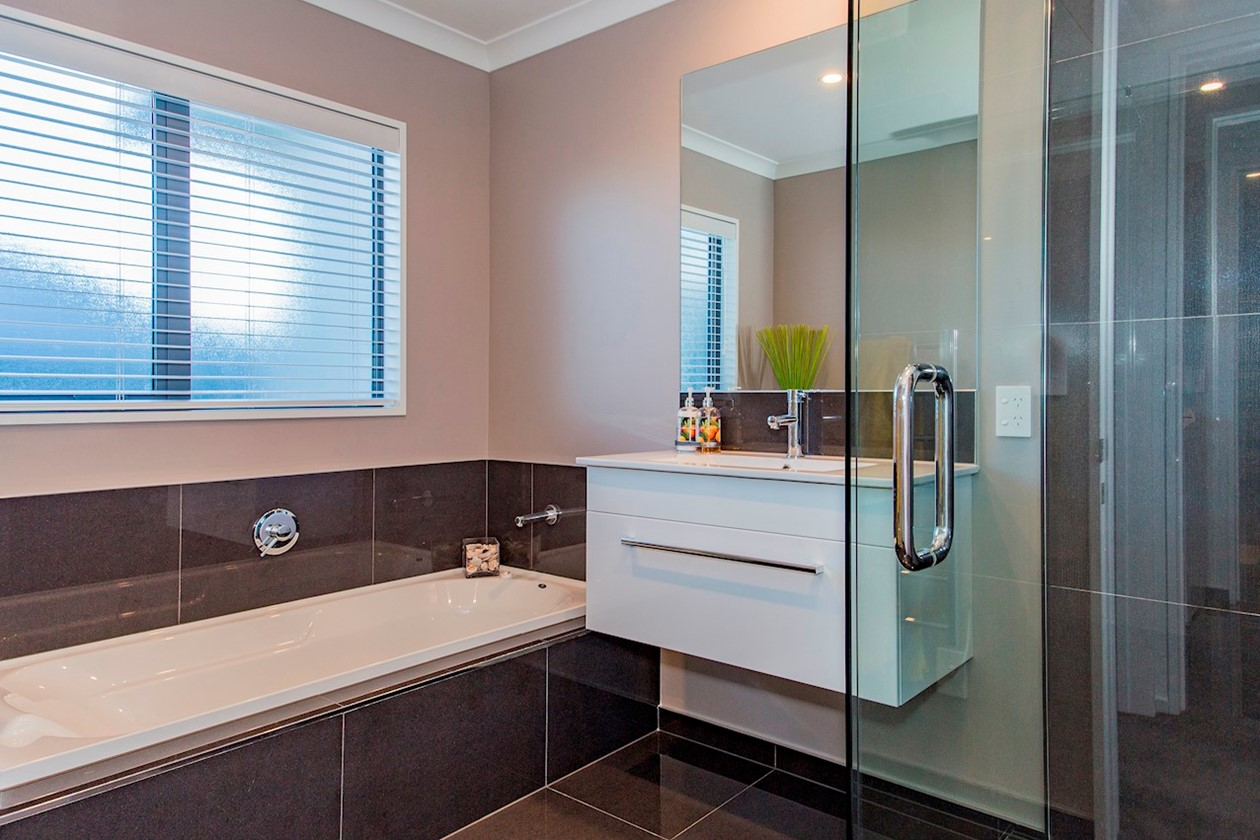 Today Homes house of the year entry bathroom
