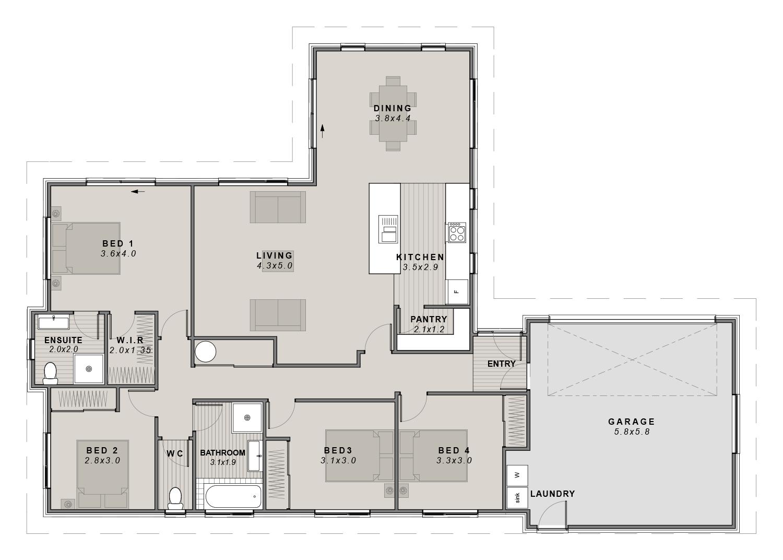 The Sumner Floorplan