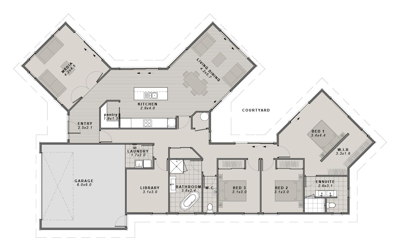 The Maddison Floorplan