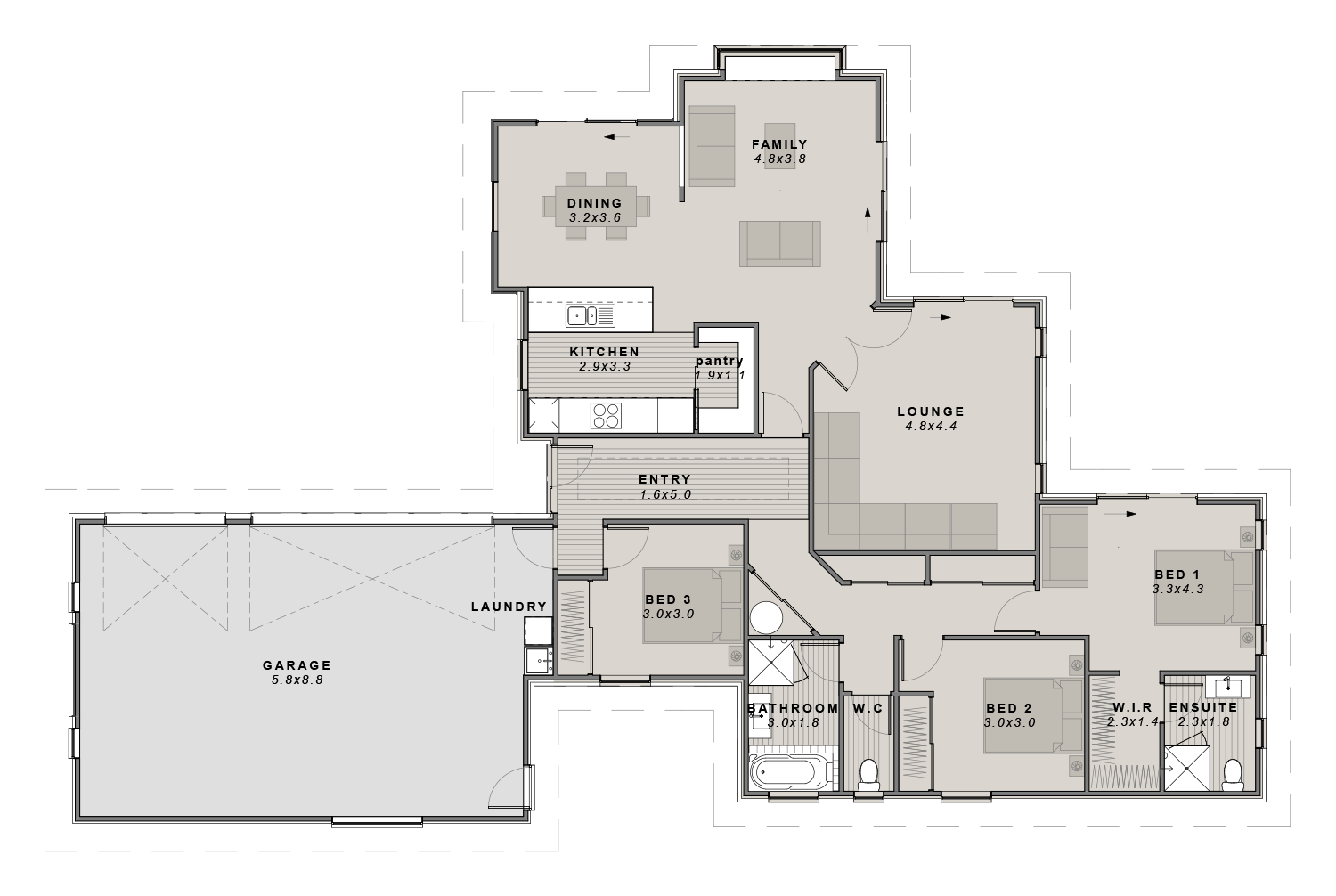 The Burnham Floorplan