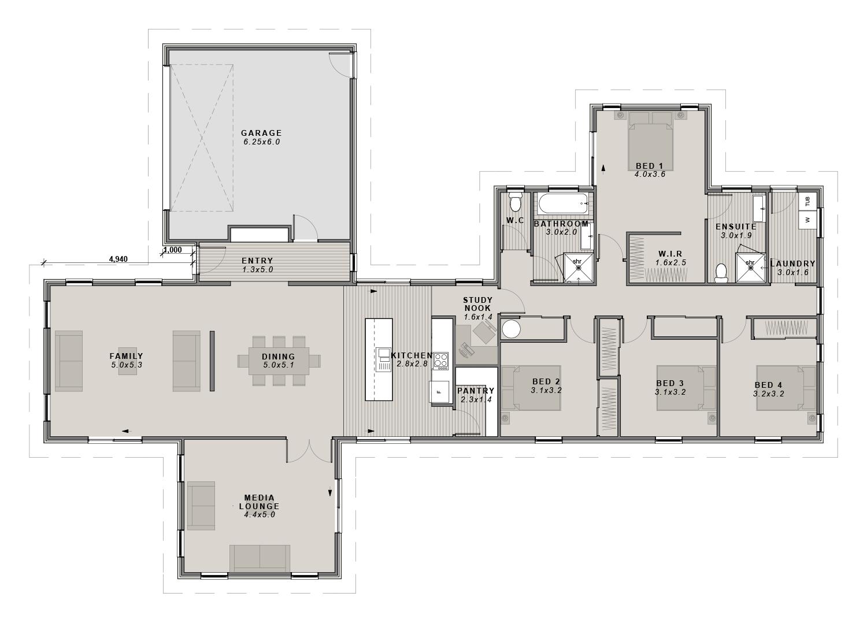 The Manhatten Floorplan