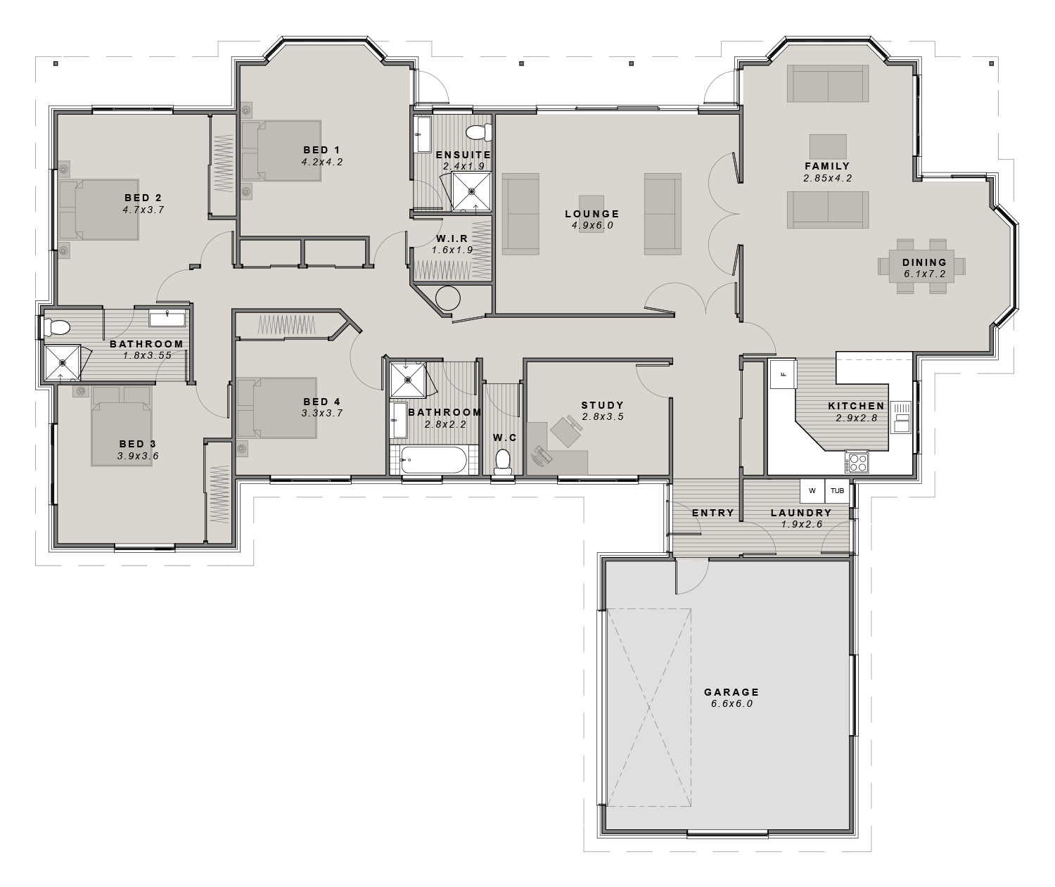 The Mayfield Floorplan