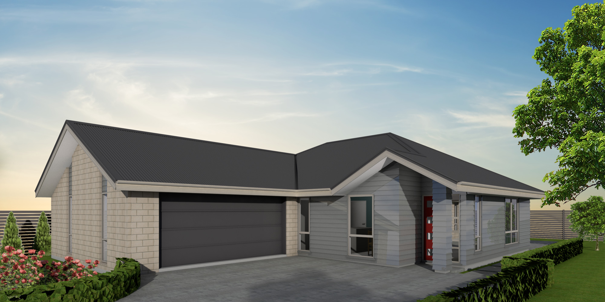 - You will feel right at home in the Preston when you walk through the entranceway into the large free-flowing living areas. The generous walk-in wardrobe spanning the width of the master bedroom is sure to delight lovers of fashion.