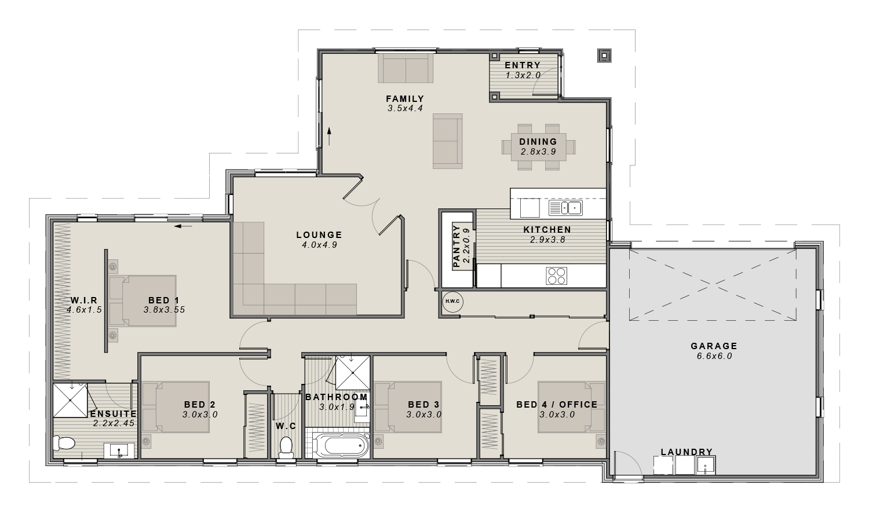 The Preston Floorplan