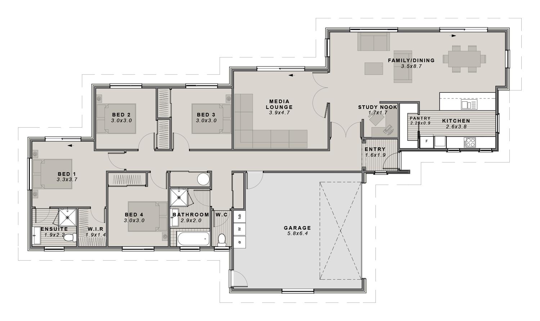 The Torlesse Floor plan