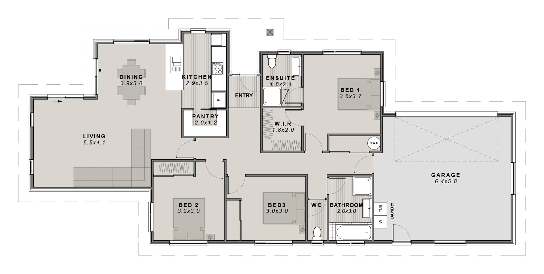 The Travis Floor plan