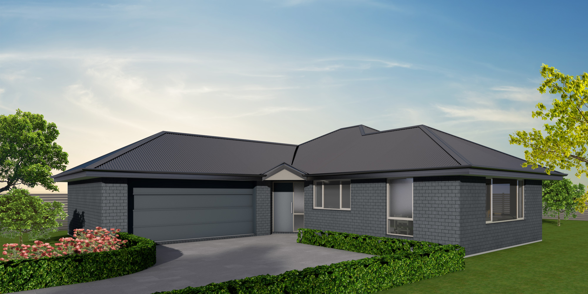 - The Fernside is a substantial family home with separate interconnecting living areas. The generous master bedroom features a walk-in-robe and ensuite, while the fourth bedroom's location off the entry makes it an ideal office for those working from home.