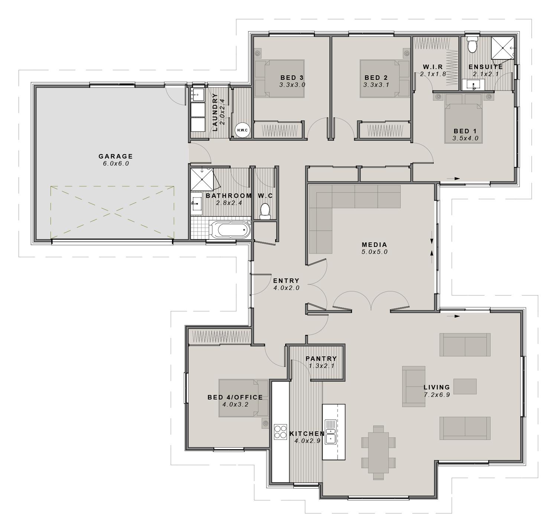 The Norwood Floor plan