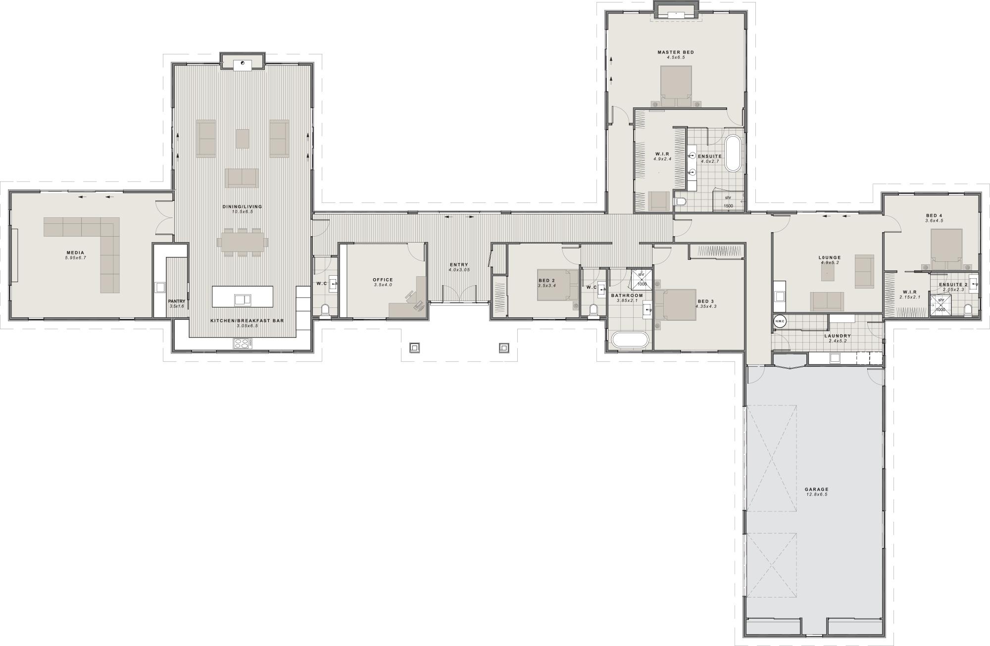 The Molesworth Floor plan