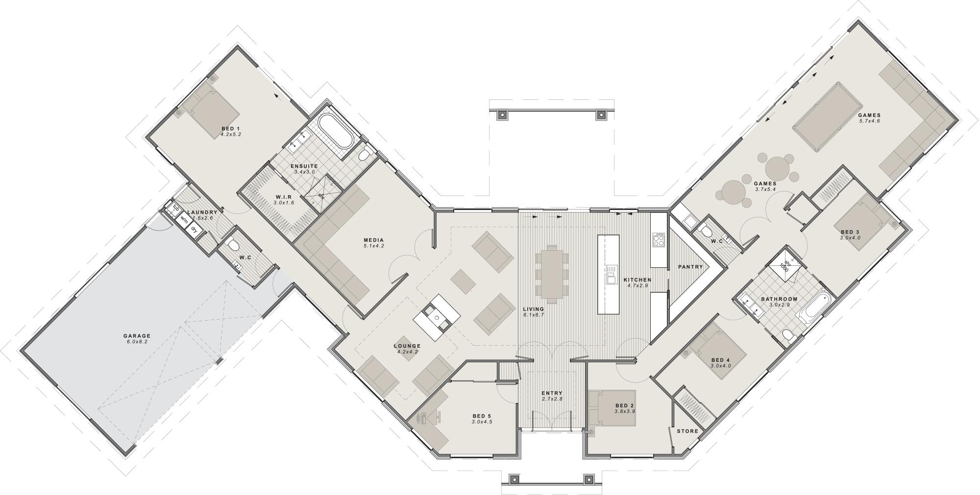 Rangitata Floor Plan