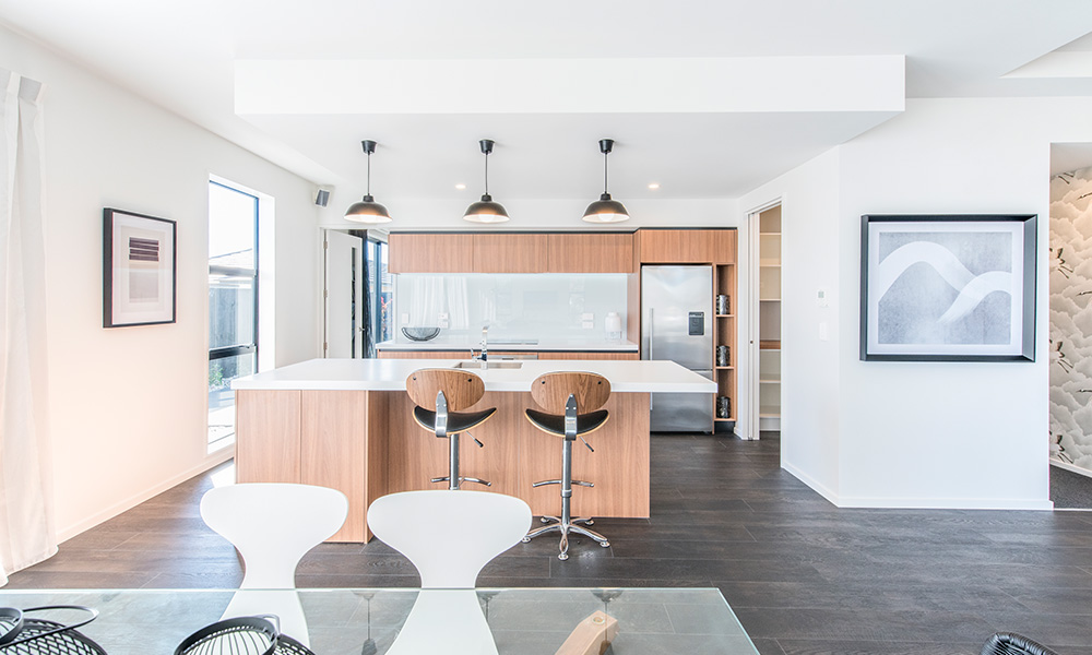 The Merivale showhome, kitchen