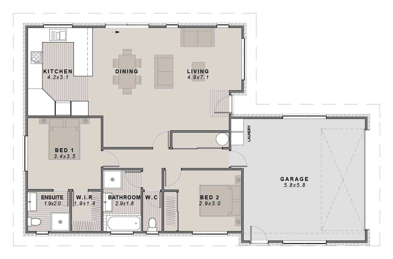 The Stoke Floorplan
