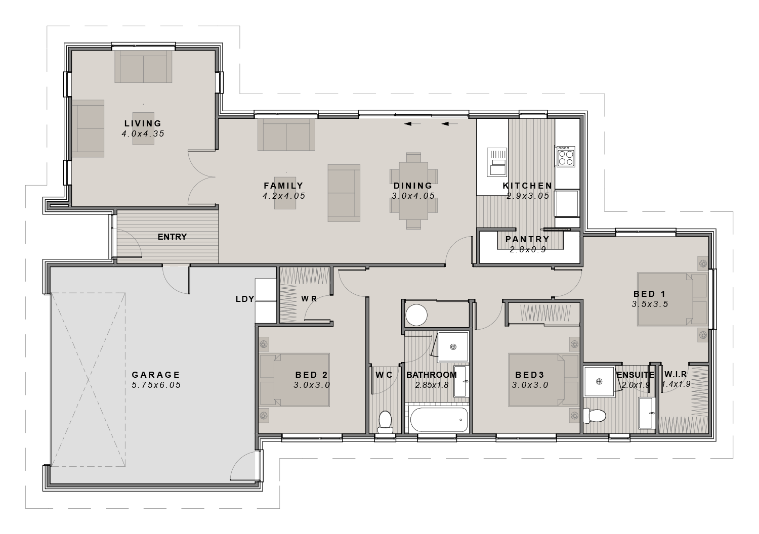 The Urban showhome Floorplan