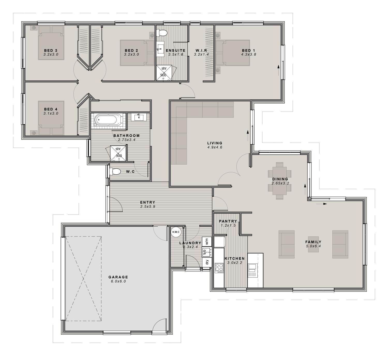 The Lansdowne Floorplan
