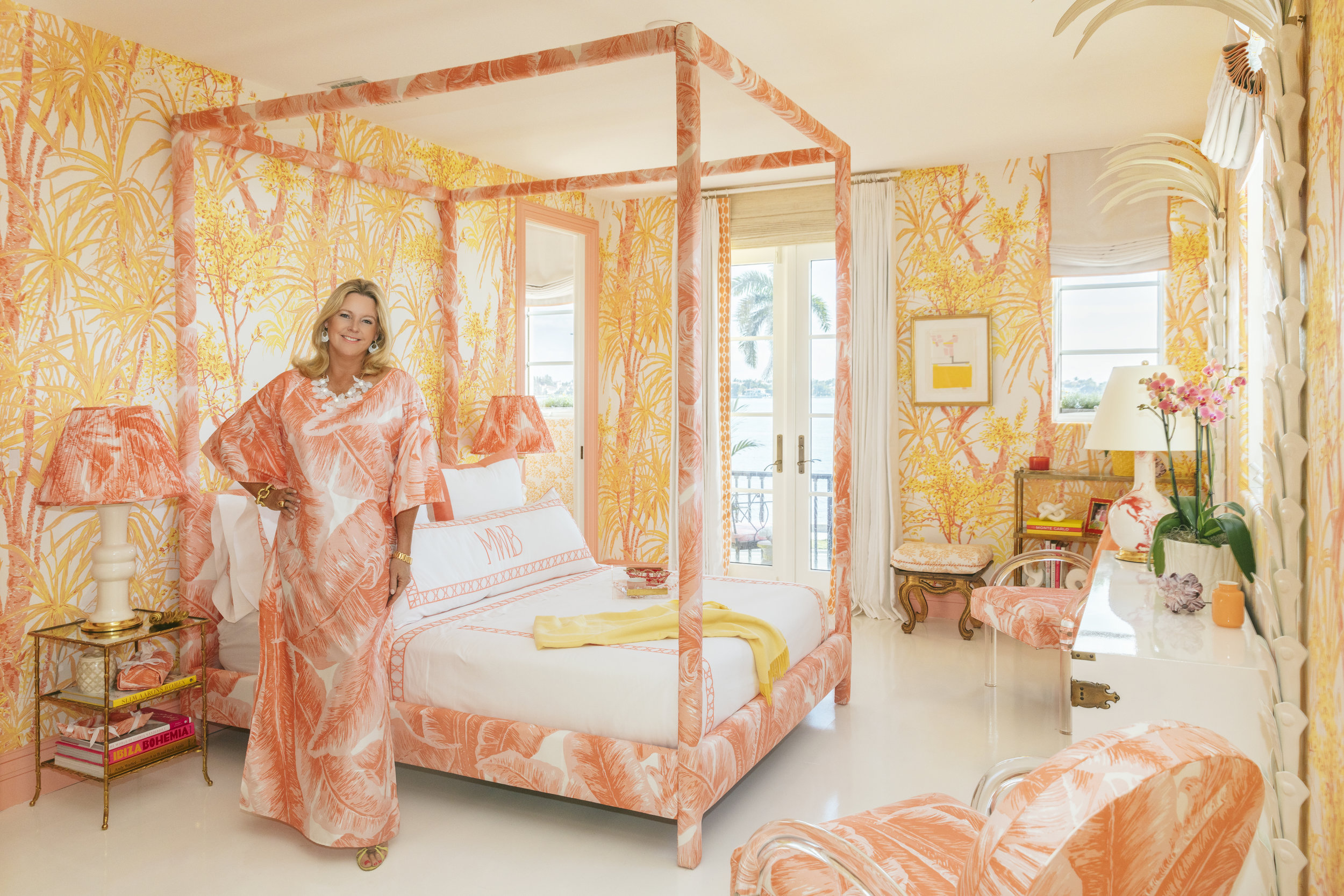Meg Braff in her room at Kips Bay