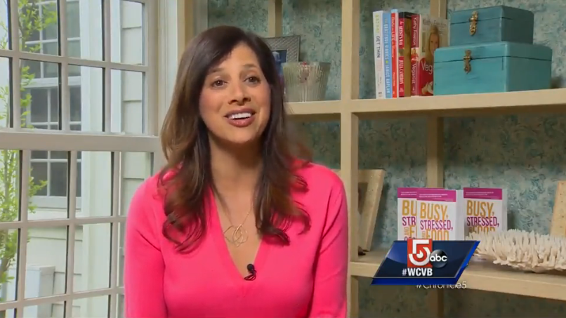 Watch Lisa on Channel 5 - WCVB-TV's Chronicle - Lisa shares strategies for better living in her new book Busy, Stressed and Food Obsessed.