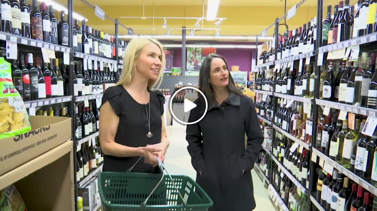 Culinary instructor Lauren Chandler helps Stephanie Kralevich re-stock her kitchen cupboards with a trip to Food Front Cooperative Grocery store in SW Portland. As featured on KPTV
