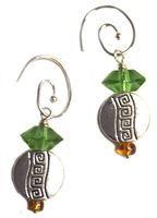 Circle Droplet Earrings