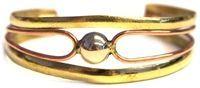 Brass w/ Ball Bracelet