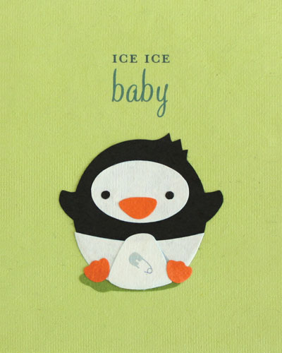 Welcome someone new into the world with this adorable card from  Sanctuary Springs  in the  Philippines