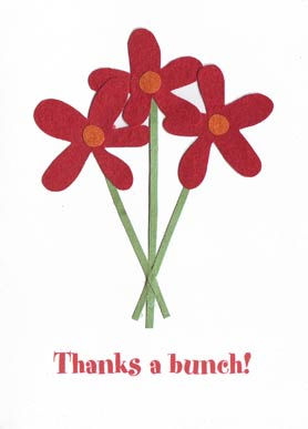 Give thanks with this cute card made by  Cards from Africa  in  Rwanda