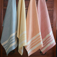 Cotton kitchen towels from  Sustainable Treads  in  India