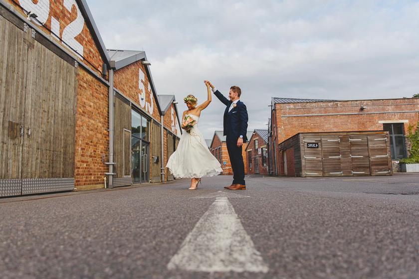 Bespoke wedding dress