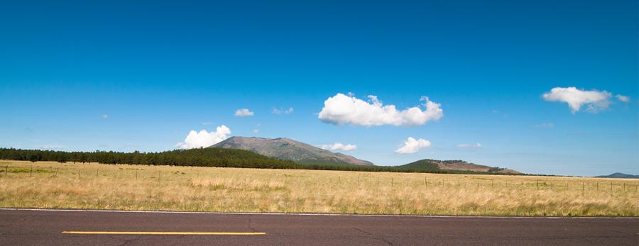 Vast expanses of beautiful open land define the landscape around much of Arizona.