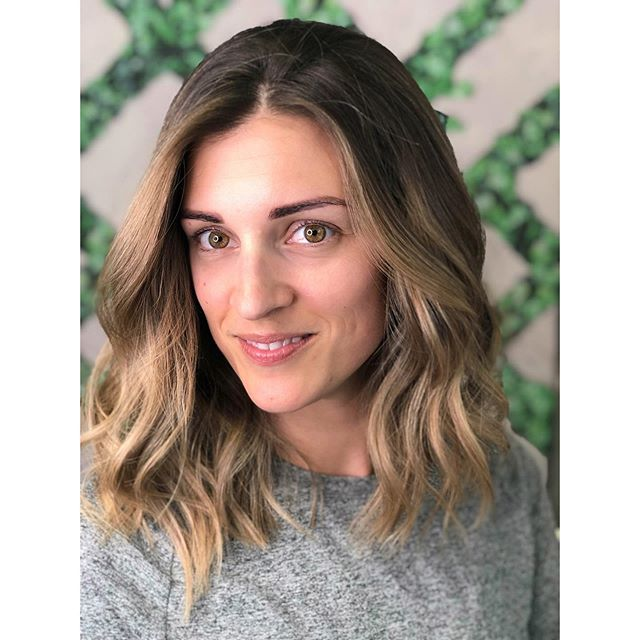 Latte toned Lob just in time for pumpkin spice season 😋☕️ #lob #bronde #haircolor #haircut #balayage #ombre #sombre #hairpainting #mysola