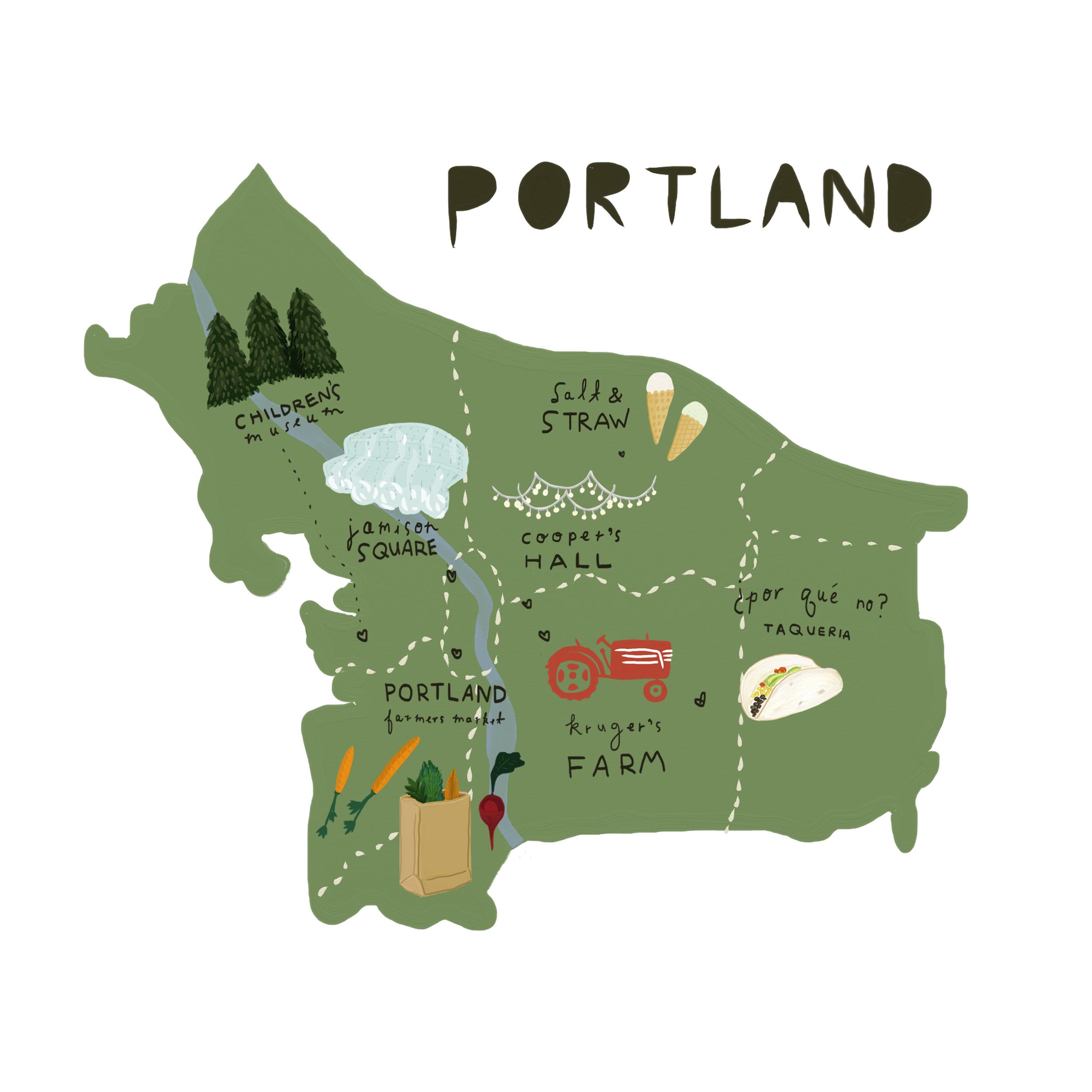 map illustration :  Betsy Petersen