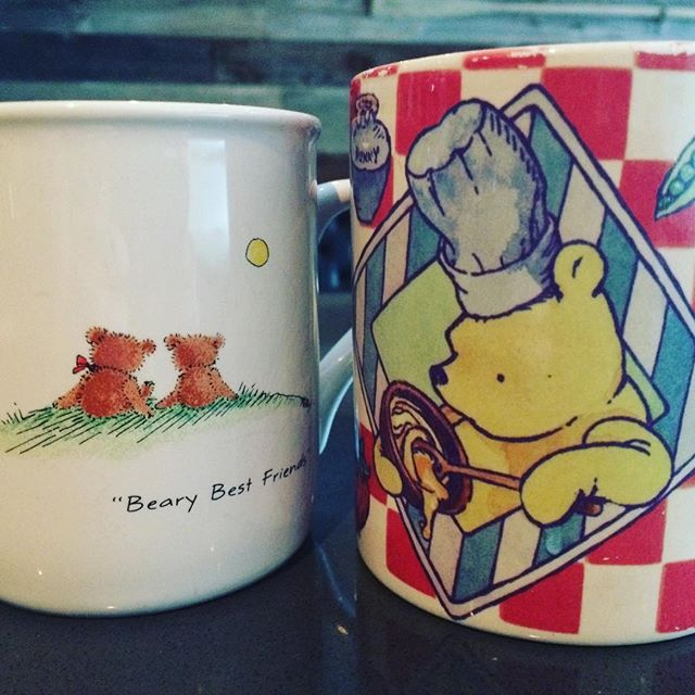 Bears. Brunch. Battlestar Gallactica. #sundaybrunch #newtoronto #coffeetime #coffeecup #mugshot #foodie #bestinthewest