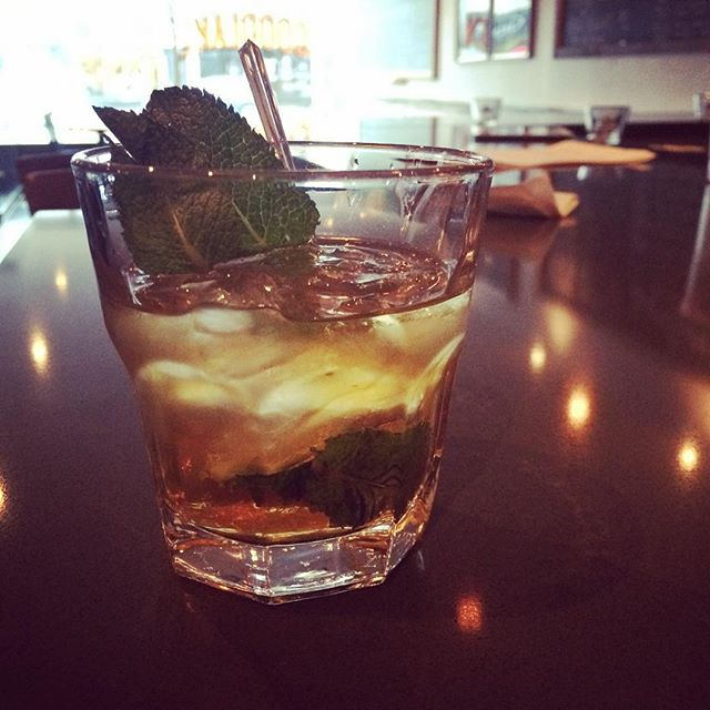 Warm up and dry off with a refreshing mint julep at Goodlake! #rainydays #aprilshowers #newtoronto #southetobicoke #tummytreats