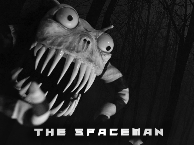 A man creates a cardboard spaceship, goes to another planet to dispose of a mysterious object, & battles an ALIEN MONSTER!