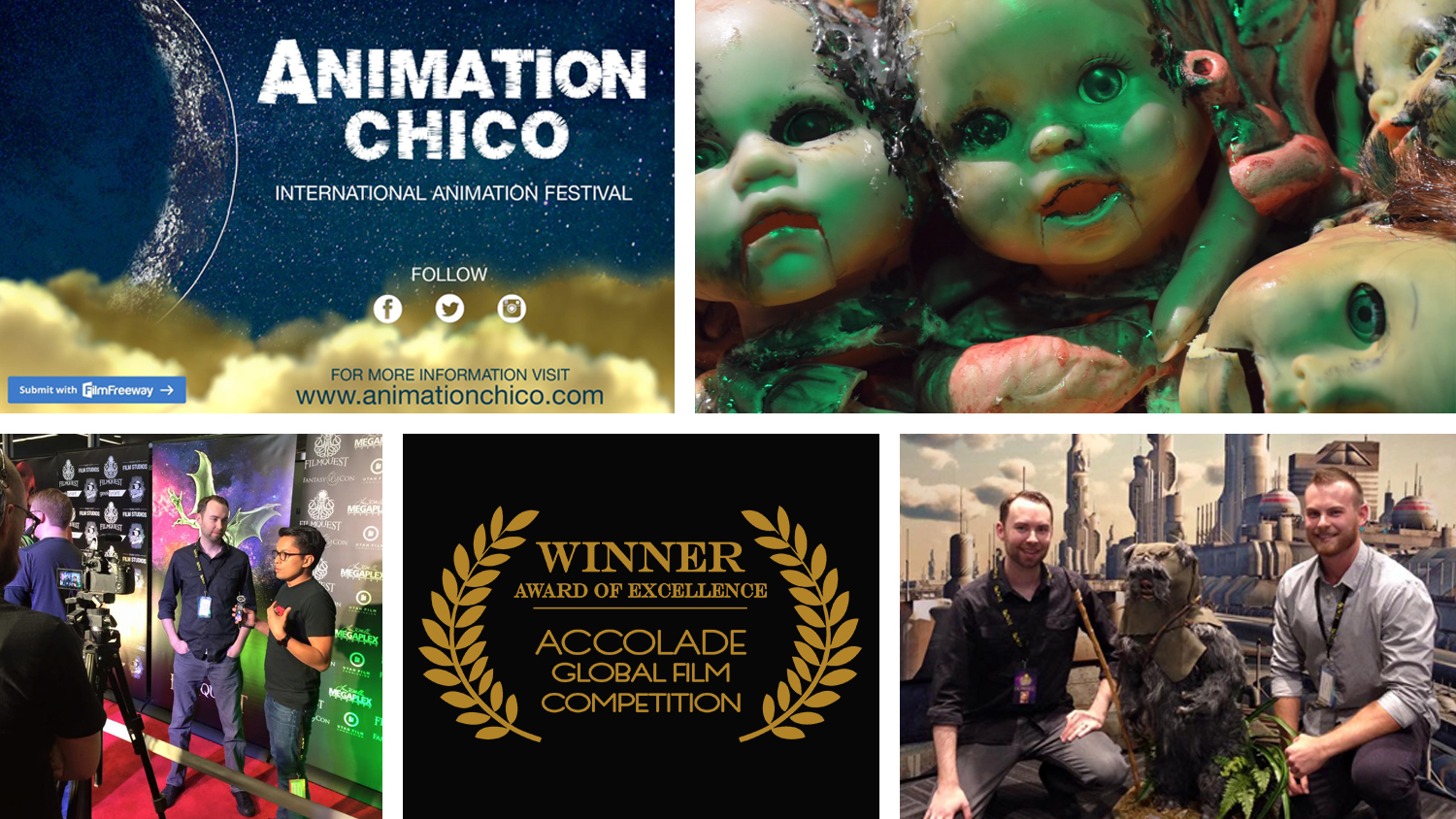 Animation Chico Josh Funk Director