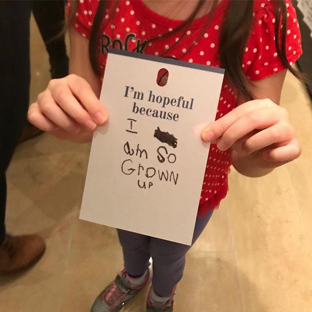 #wordsofwisdom from 5 year olds @rubinmuseum