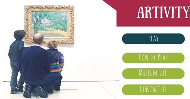 Heading to any of the art shows this week? Bringing the kids? Download our ARTIVITY app for an engaging way to look at art together wherever you go! Link in bio.  #artwithkids #nyckids #kidsloveart #kidsmuseum