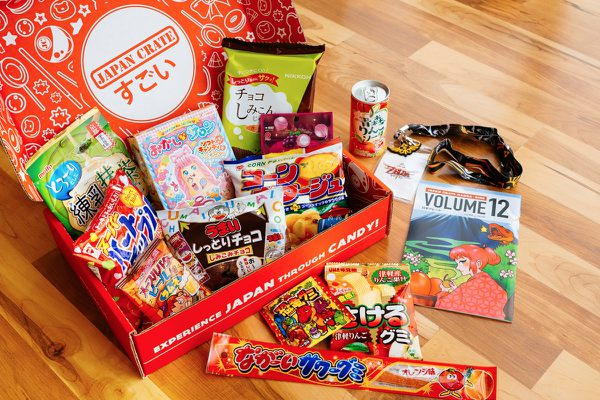 Japan Crate: Experience the excitement of Japan through monthly crates!