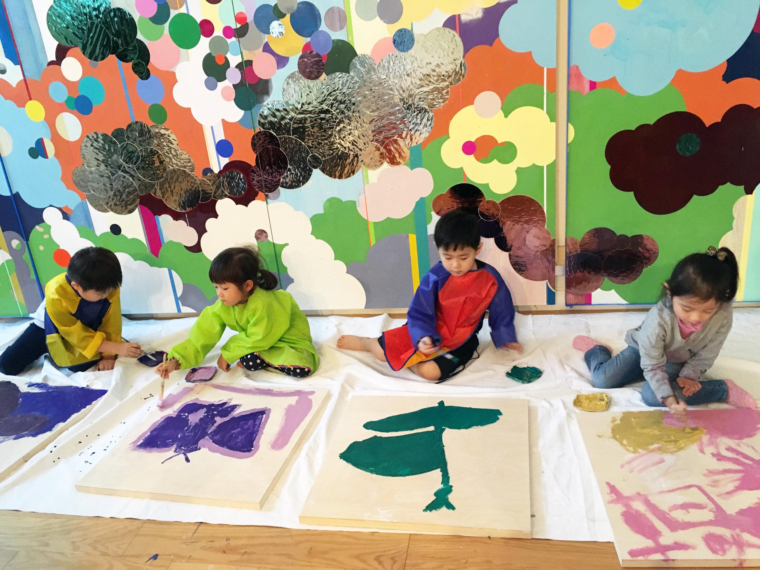 Little painters @ Suzy Studio